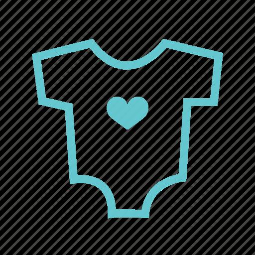Cute, smaşş, kids, pijama, t-shirt, cloth, babies icon - Download on Iconfinder