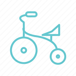 baby, bike, children, fun, game, kids, play, ride, small, toy icon