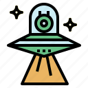 galaxy, space, ufo, universe icon