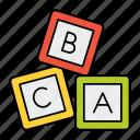alphabet, blocks, cubes, education, toy, blocks toy, knowledge