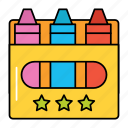 crayons, toy, colored, crayon, box, drawing, colors