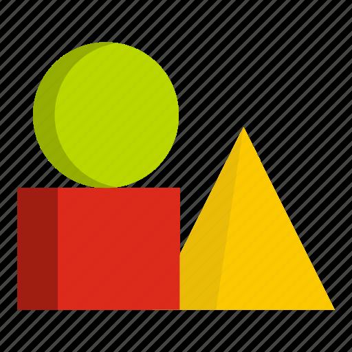 block, box, box of bricks, brick, combination, cube, square icon