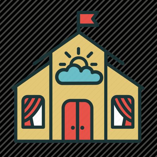children, education, kids, kindergarten, nursery school icon