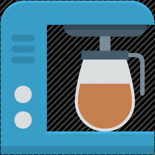 coffee brewer, coffee machine, coffee maker, coffee percolator, espresso machine icon