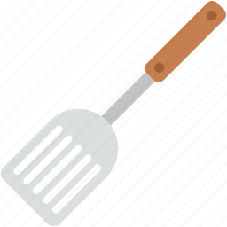 cooking tools, kitchen turner, kitchen utensils, spatula, turning spatula icon