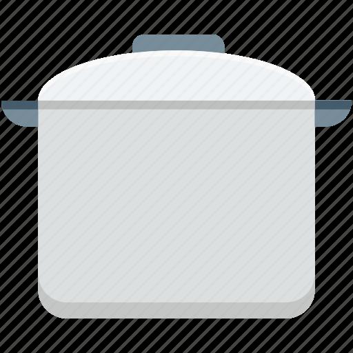 casserole, cooking pot, cookware, kitchen utensil, saucepan icon