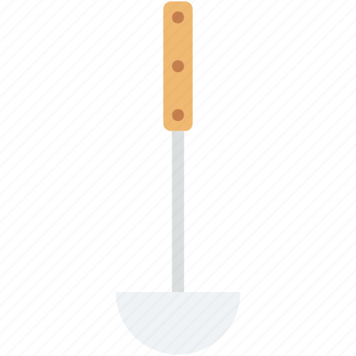 dipper, ladle, scoop, serving spoon, soup ladle icon