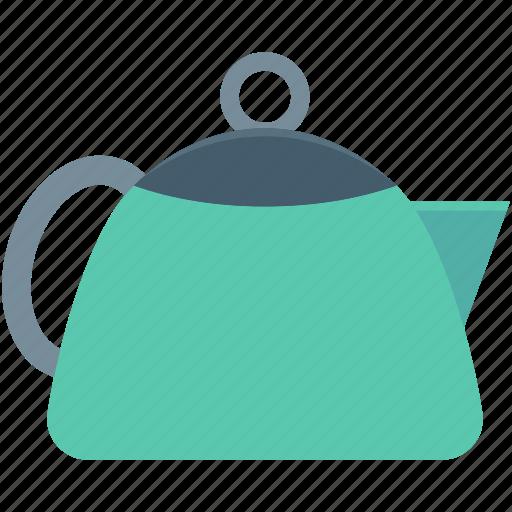 dishware, kitchen, tea kettle, tea set, teapot icon