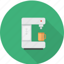 cafe, coffee, coffee maker, cup, espresso, kitchen, maker icon