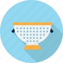 colander, cooking, kitchen, pasta, restaurant icon