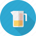 cup, kitchen, kitchenware, measuring, measuring cup icon