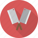 cleaver, kitchen, kitchenware, meat, meat cleaver icon