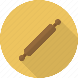 kitchen, kitchenware, pin, rolling, rolling pin icon