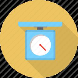 chef, kitchen, kitchenware, recipe, scales, weigher, weighting icon