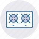 cooking, fire, food, gas, kitchen, portable, utensil icon