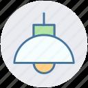 ceiling light, chandelier, kitchen, lamp, light, light bulb icon