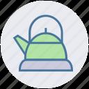 boil, kettle, kitchen, tea, tools, utensils, water