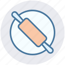 bakery, bread roller, bread rolling pin, cooking, kitchen, roller, rolling pin icon