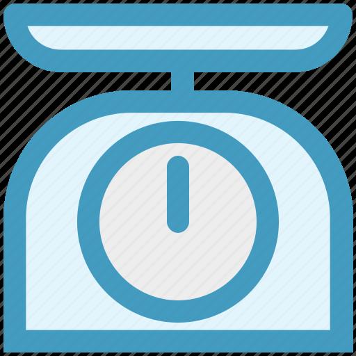 Equipment, kitchen, kitchenware, scale, weight icon - Download on Iconfinder