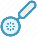 cooking, cooking spoon, food, kitchen, skimmer, tools icon