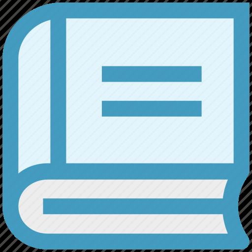 book, cook, kitchen, recipe, recipe book icon