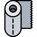 cook, cooking, food, kitchen, paper, towel icon