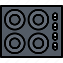 cook, cooking, food, kitchen, panel icon