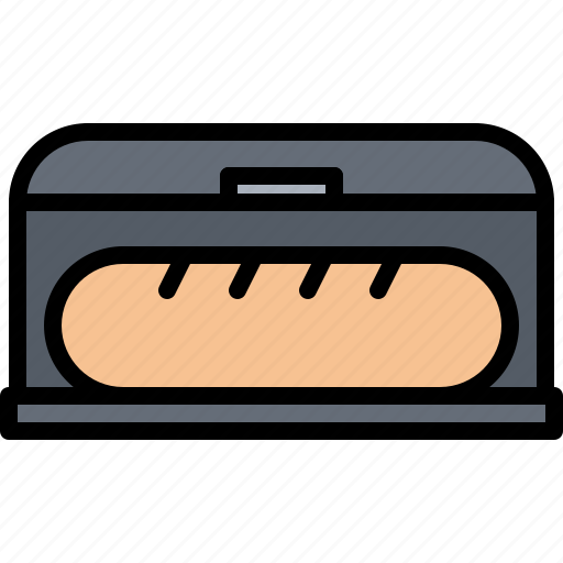 box, bread, cook, cooking, food, kitchen icon