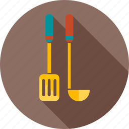 chef, cook, cooking, fork, kitchen, knife, spoon icon
