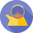 cook, cooking, drink, hot, kettle, kitchen, water icon