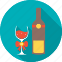 alcohol, drink, glass, kitchen, magnifying, wine icon