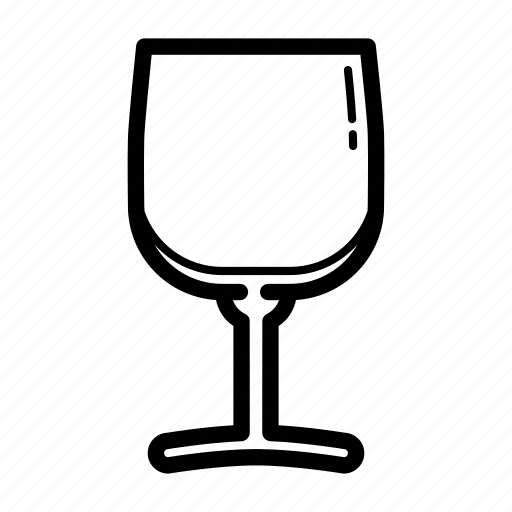 glass, kitchen, kitchen utensil, wine glass icon