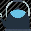 kettle, kitchen, teapot, utensils
