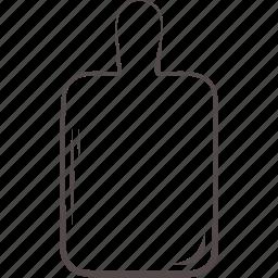 board, cut, kitchen, plate, wood icon