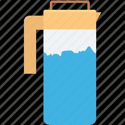 ewer, jug, kitchen utensil, pot, water pot icon