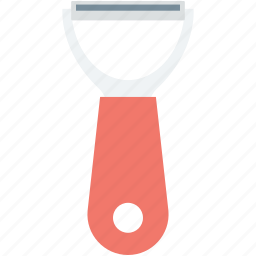 kitchenware, peeler, potato peeler, sharp tool, vegetable peeler icon