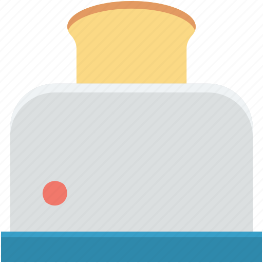 electronics, sandwich toaster, slice toaster, toast machine, toaster icon