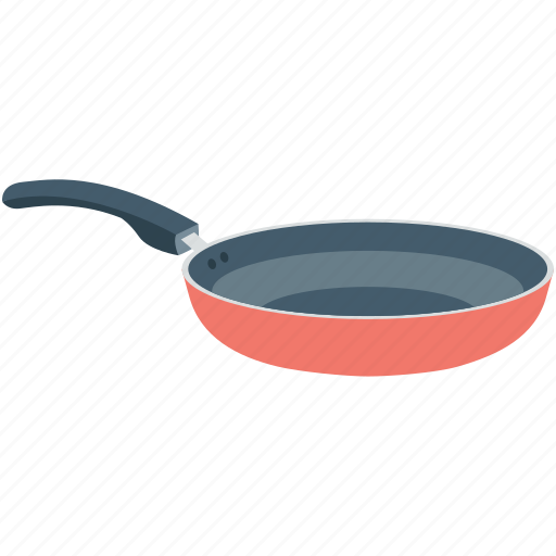 cookery, cookware, frying pan, frypan, skillet pan icon