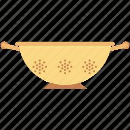 colander, filter, kitchenware, sieve, strainer icon