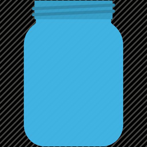 bottle, food bottle, food container, jam jar, jar icon