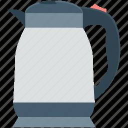electric kettle, kettle, tea kettle, teapot, thermos icon