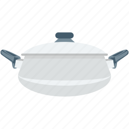 casserole, cooking pan, cookware, kitchen pot, saucepan icon