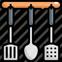 cooking, equipment, food, kitchen, kitchenware, spatula, spatulas