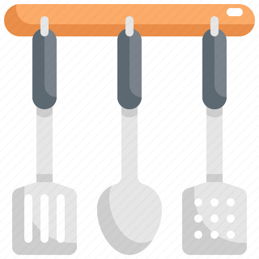 Cooking, equipment, hanging, kitchen, kitchenware, spatula, spatulas icon - Download on Iconfinder