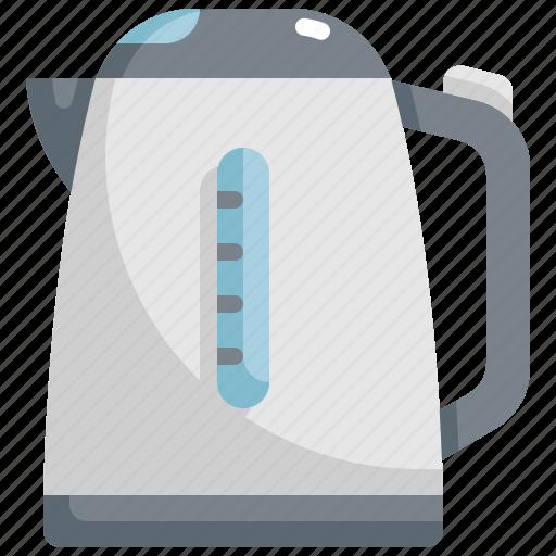 Cooking, equipment, kettle, kitchen, kitchenware, tea, teapot icon - Download on Iconfinder