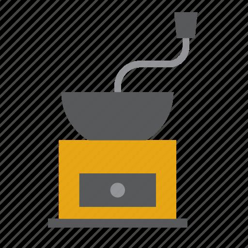 Coffee, grinder, kitchen, kitchenware icon - Download on Iconfinder