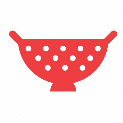 colander, cooking, kitchen, kitchenware, strainer, utensil icon