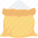flour, flour bag, flour sack, salt sack, sugar sack icon