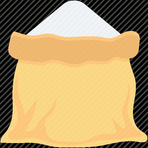 flour, flour bag, flour sack, salt sack, sugar sack icon