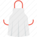 apron, chef apron, chef uniform, cook uniform, kitchen pinafore icon